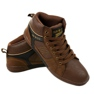 Brown men's lace-up sneakers 15M749 picture 3