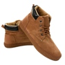 Brown insulated men's sneakers AN06 picture 2