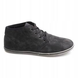 Fashionable High Sneakers TL354 Gray grey 2