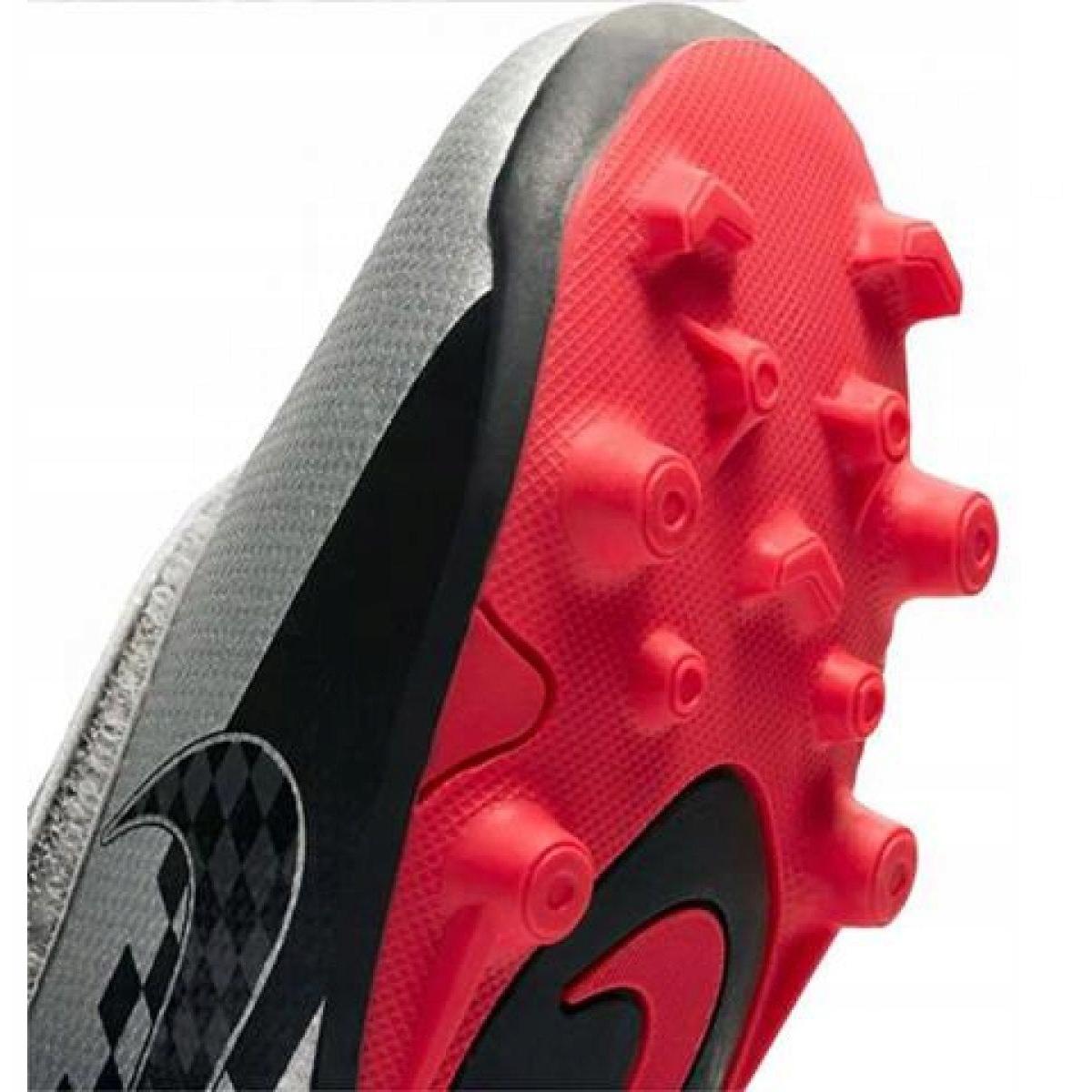 Cuarto vida George Eliot  Nike Mercurial Vapor 13 Club Neymar Mg PS (V) Jr AT8164-006 football shoes  grey black - ButyModne.pl