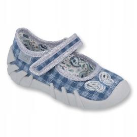 Befado children's shoes 109P188 blue grey 1