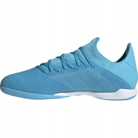 Adidas X 19.3 In M F35371 indoor shoes blue blue 1