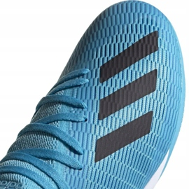 Adidas X 19.3 In M F35371 indoor shoes blue blue 3