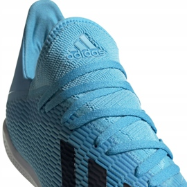 Adidas X 19.3 In M F35371 indoor shoes blue blue 4