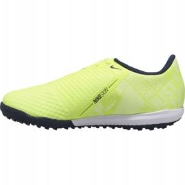 Nike Phantom Venom Academy Tf Jr AO0377-717 football shoes yellow yellow 1