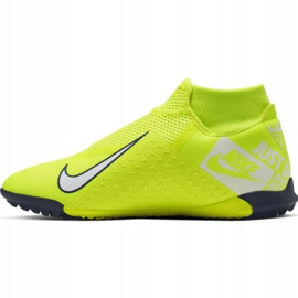 Nike Phantom Vsn Academy Df Tf M AO3269-717 football shoes yellow yellow 2