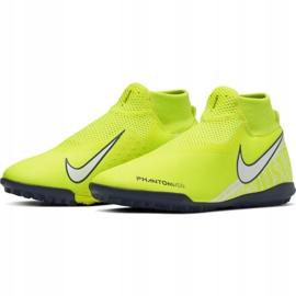 Nike Phantom Vsn Academy Df Tf M AO3269-717 football shoes yellow yellow 3