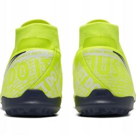 Nike Phantom Vsn Academy Df Tf M AO3269-717 football shoes yellow yellow 4