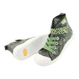 Befado children's shoes 268X070 grey green 5