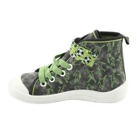 Befado children's shoes 268X070 grey green 3