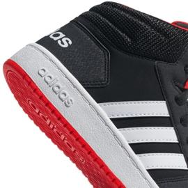 Adidas Hoops Mid 2.0 K Jr B75743 shoes black 1