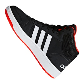Adidas Hoops Mid 2.0 K Jr B75743 shoes black 4