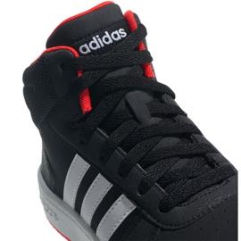 Adidas Hoops Mid 2.0 K Jr B75743 shoes black 5
