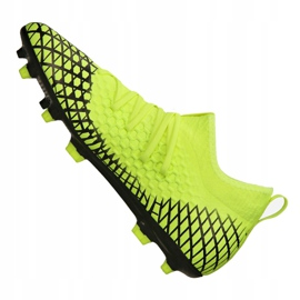 Puma Future 4.3 Netfit Fg / Ag M 105612-03 football boots yellow yellow 1