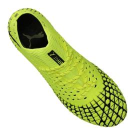 Puma Future 4.1 Netfit Fg / Ag M 105579-03 football boots yellow yellow 2