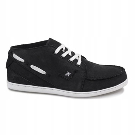 High Leather MID1 Black Sneakers 1