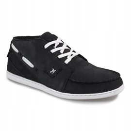 High Leather MID1 Black Sneakers 2