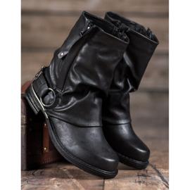 Seastar Biker Boots black 2