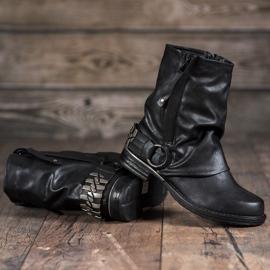 Seastar Biker Boots black 3