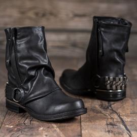 Seastar Biker Boots black 4