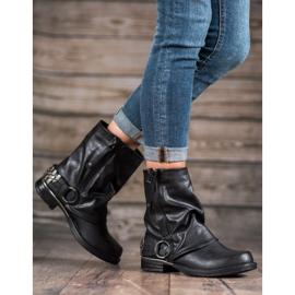 Seastar Biker Boots black 5