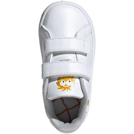 Adidas Advantage I Jr EF0305 shoes white 1