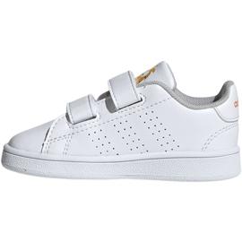 Adidas Advantage I Jr EF0305 shoes white 2