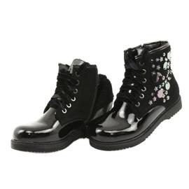 Boots varnished sequins Evento 1433 black 5