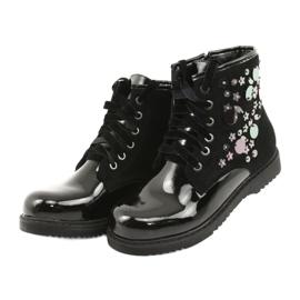 Boots varnished sequins Evento 1433 black 3