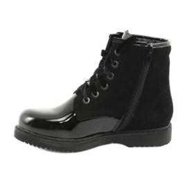 Boots varnished sequins Evento 1433 black 2