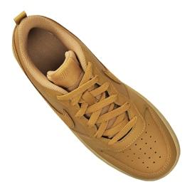Nike Court Borough Low 2 (GS) Jr BQ5448-700 shoes brown 2