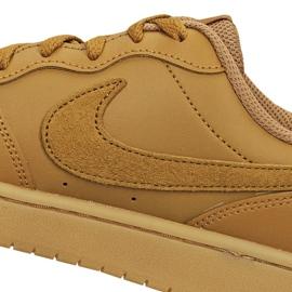 Nike Court Borough Low 2 (GS) Jr BQ5448-700 shoes brown 3