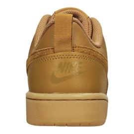 Nike Court Borough Low 2 (GS) Jr BQ5448-700 shoes brown 4