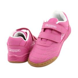 Kappa Kickoff Oc Jr260695K 2210 shoes white pink 3
