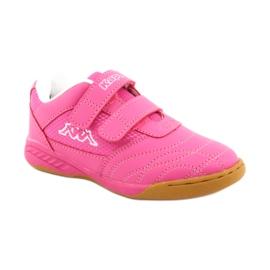 Kappa Kickoff Oc Jr260695K 2210 shoes white pink 1