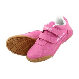 Kappa Kickoff Oc Jr260695K 2210 shoes white pink 4