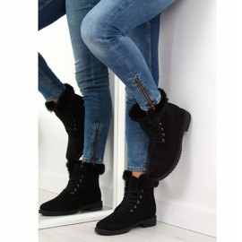 Black insulated boots MP-37 Black 5