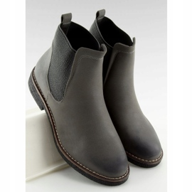 Gray Chelsea boots for women 6768-PA Gray grey 2