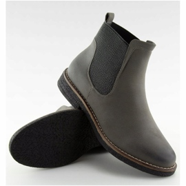 Gray Chelsea boots for women 6768-PA Gray grey 1