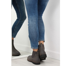 Gray Chelsea boots for women 6768-PA Gray grey 3
