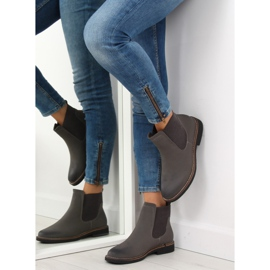 Gray Chelsea boots for women 6768-PA Gray grey 4