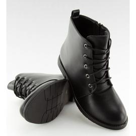 Black lace-up boots 3085 Black 6