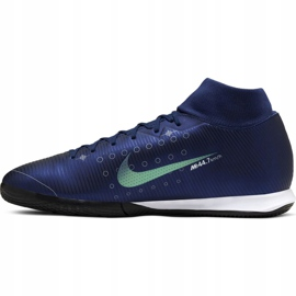 Nike Mercurial Superfly 7 Academy Mds Ic M BQ5430-401 indoor shoes navy navy 2