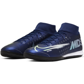 Nike Mercurial Superfly 7 Academy Mds Ic M BQ5430-401 indoor shoes navy navy 3