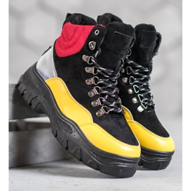 Lace-up VICES boots multicolored 2