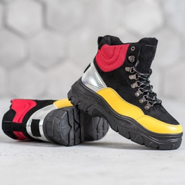 Lace-up VICES boots multicolored 4