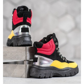 Lace-up VICES boots multicolored 3