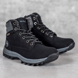 Warm MCKEYLOR hiking boots black 3