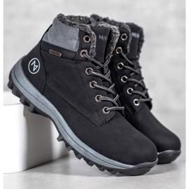 Warm MCKEYLOR hiking boots black 1