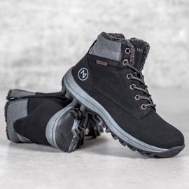Warm MCKEYLOR hiking boots black 2